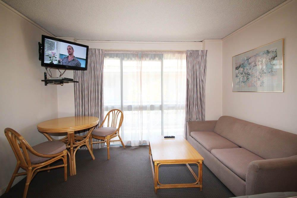 Twin Room Lounge Area | Accommodation Beaumaris